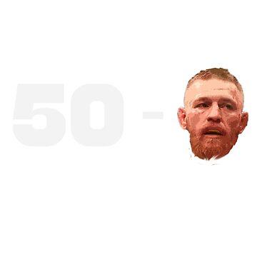 Floyd Mayweather 50 - 0 Conor McGregor by zaktravel99