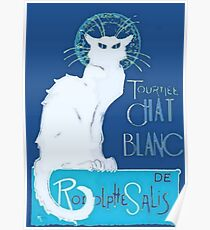 Le Chat Blanc Poster