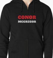 Sudadera con capucha y cremallera Conor McGregor