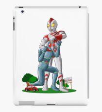 Ultraman funny Fhight iPad Case/Skin