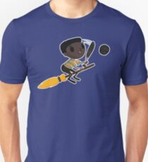 Retro Wizard on a Broom (1)  T-Shirt