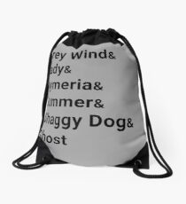 Direwolves Drawstring Bag