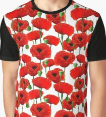 Poppy Pattern Graphic T-Shirt