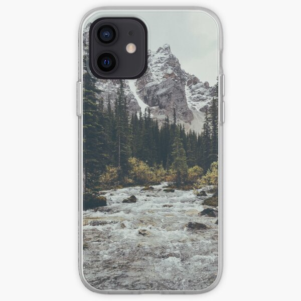 mountain rapids iPhone Soft Case