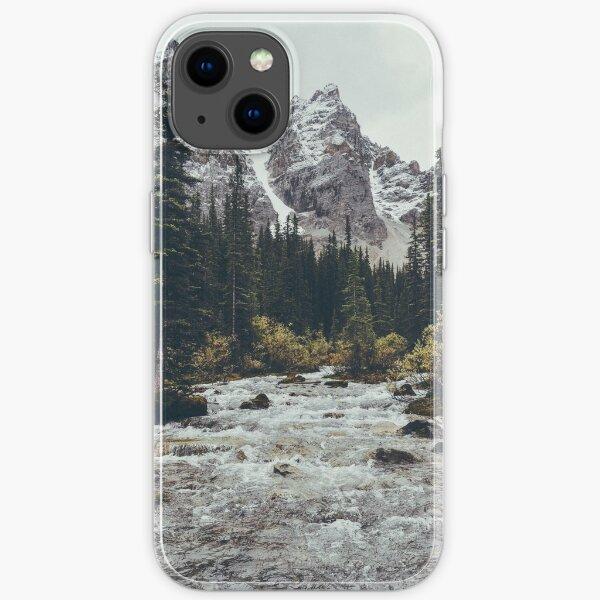 mountain rapids iPhone Soft Case
