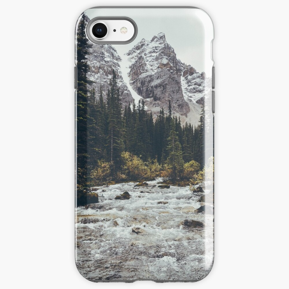 mountain rapids iPhone Case & Cover