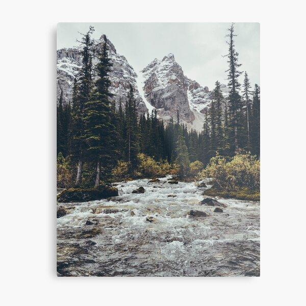mountain rapids Metal Print