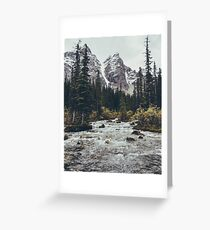mountain rapids Greeting Card