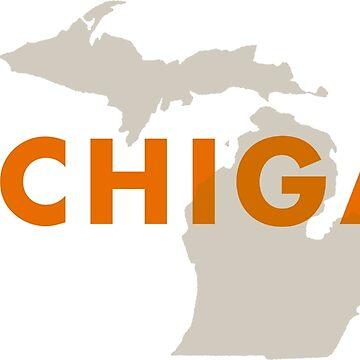 Michigan - Red by homestates