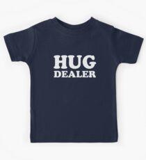 Hug Dealer Funny saying baby kids shirt Kids Clothes