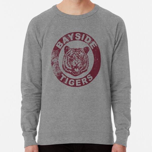 Bayside Tigers (Mascot Emblem - Distressed)  Lightweight Sweatshirt