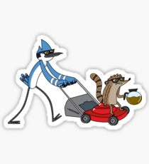 Mordecai and Rigby Regular Show Sticker