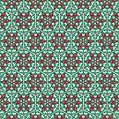 Deco Honeycomb by Paula Belle Flores
