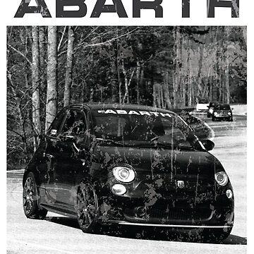 Abarth B&W by greydpeak