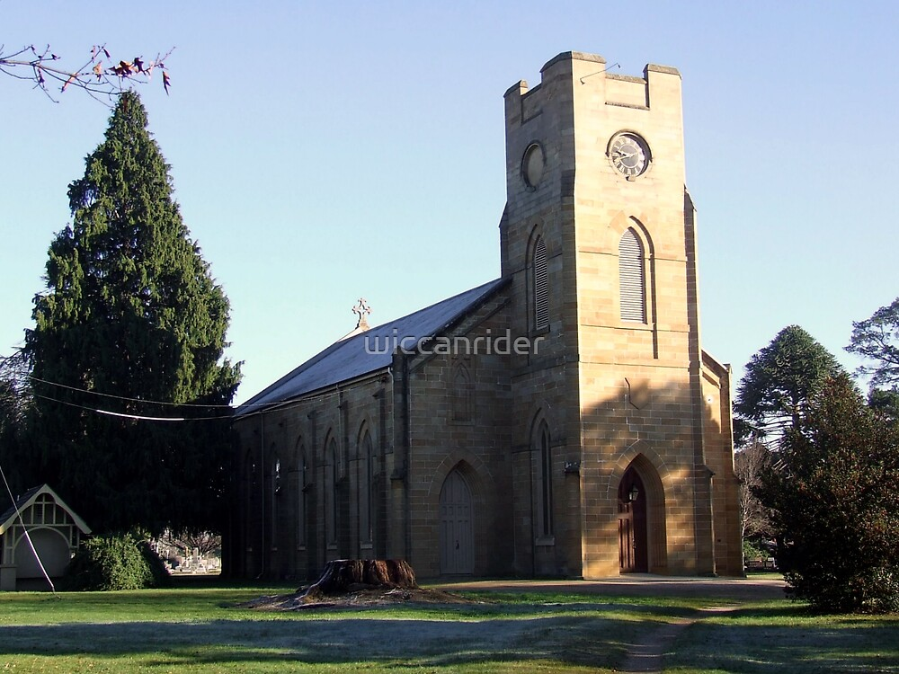 Longford Anglican Church by wiccanrider