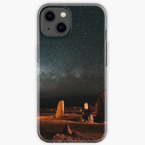 Milky Way Above the Pinnacles iPhone Soft Case