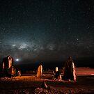 Milky Way Above the Pinnacles by Sandra Chung