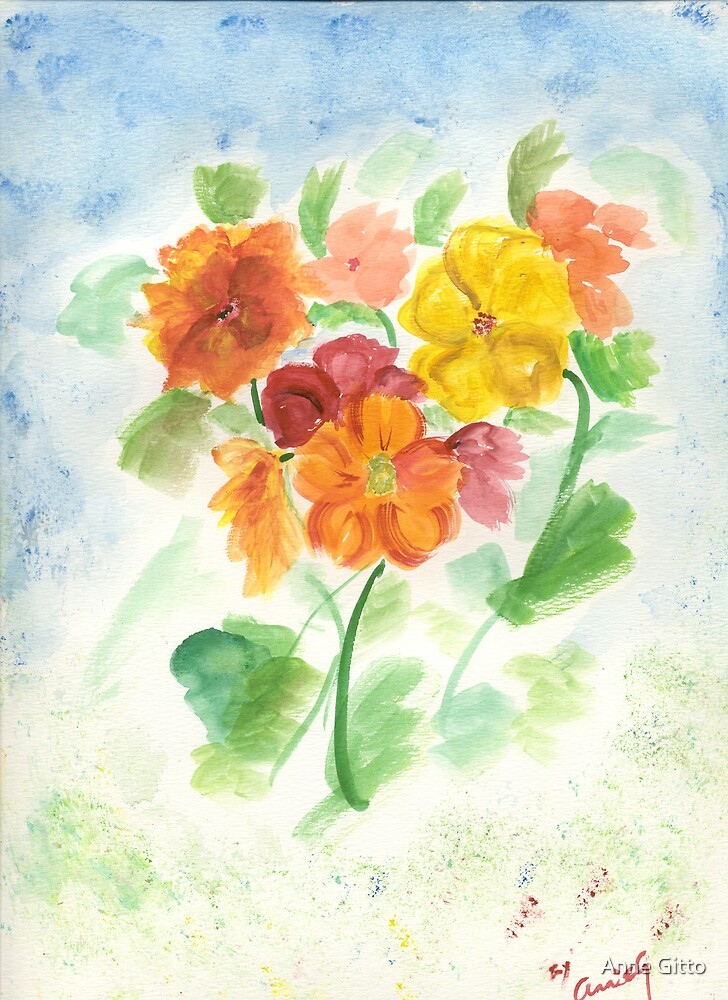Flowers by Anne Gitto