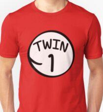Twin 1 funny saying thing shirt T-Shirt