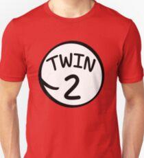 Twin 2 funny saying thing shirt T-Shirt