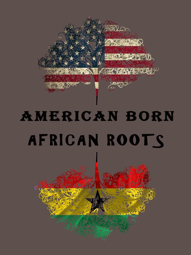 Afrikanisch geborene, afrikanische Wurzeln von jhussar