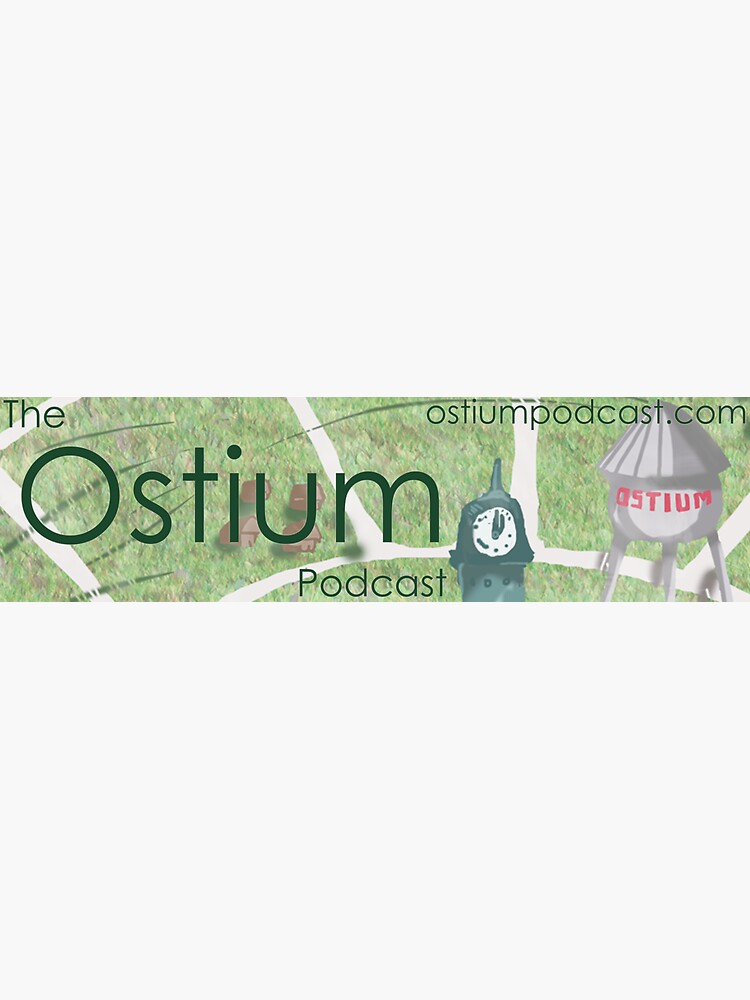Ostium Water Tower Bumper Sticker by ostiumpodcast