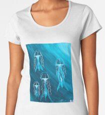 The Jellyfish Whirlpool Women's Premium T-Shirt