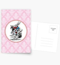 Alice in Wonderland | The Herald of the Court of Hearts | White Rabbit Postcards