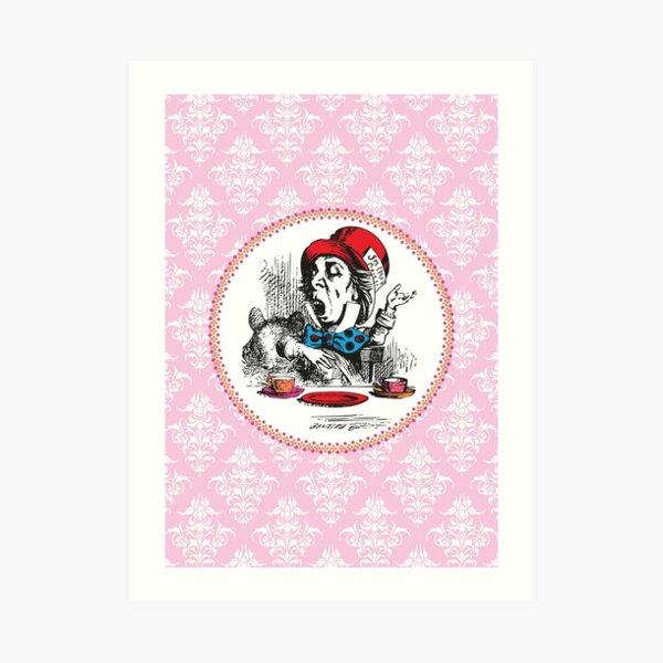 Alice in Wonderland | The Mad Hatter | Vintage Alice | Art Print