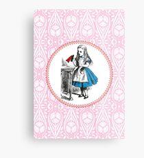 Alice in Wonderland | Drink Me Metal Print