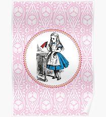 Alice in Wonderland   Drink Me Poster