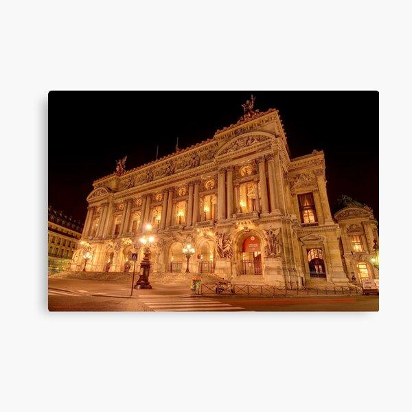 Opéra Garnier, Paris Canvas Print
