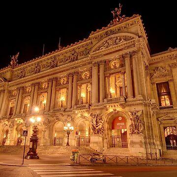 Opéra Garnier, Paris by eschlogl