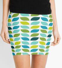 Geometric Pattern: Leaf: Spring Mini Skirt