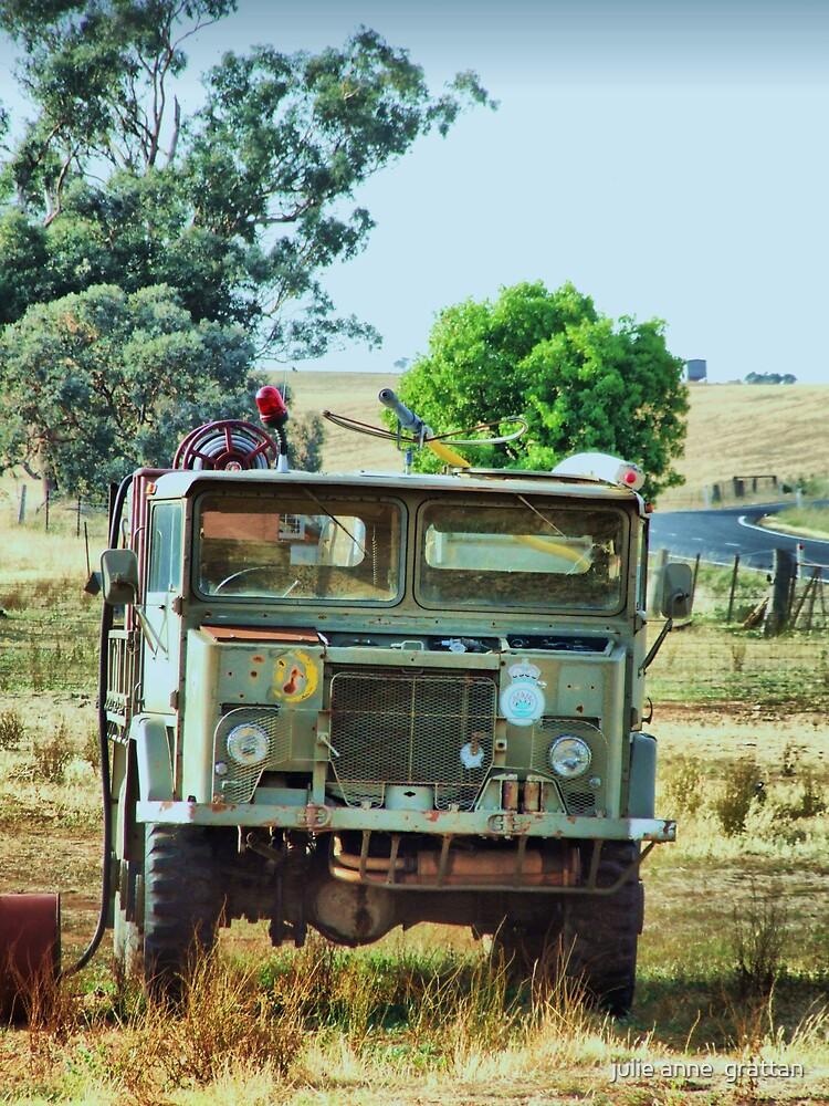 Old truck by julie anne  grattan