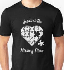 Jesus Is The Missing Piece Unisex T-Shirt