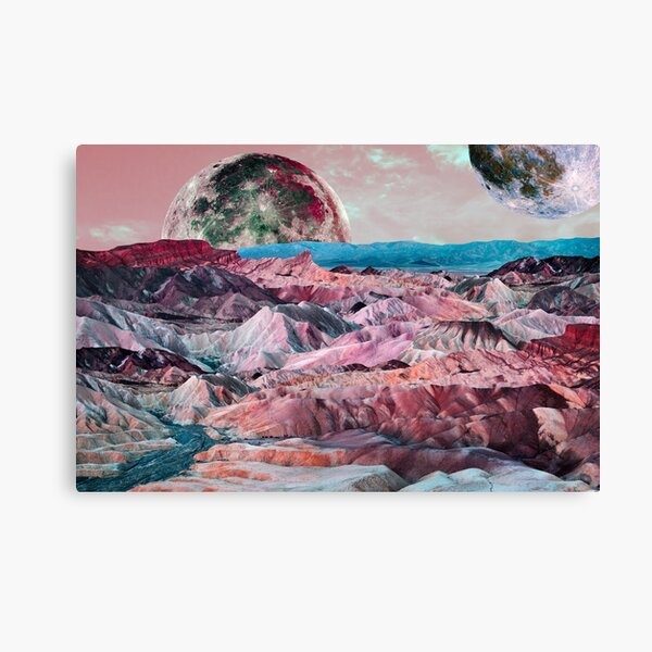 Off On Another Planet Canvas Print
