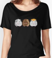 Three little Guinea pigs Women's Relaxed Fit T-Shirt