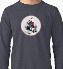 Alice in Wonderland | White Rabbit checking his Watch Lightweight Sweatshirt