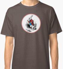 Alice in Wonderland | White Rabbit checking his Watch Classic T-Shirt