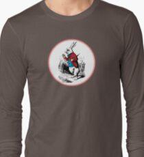Alice in Wonderland | White Rabbit checking his Watch Long Sleeve T-Shirt