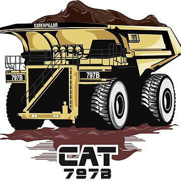 Caterpillar 797B by damnoverload