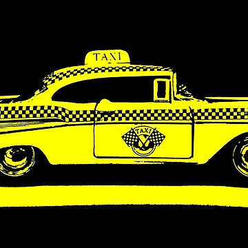 Yellow Taxi by nlittle