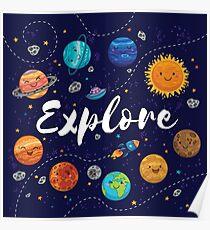 Explore!  Poster