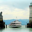 Lindau Harbour by ©The Creative  Minds