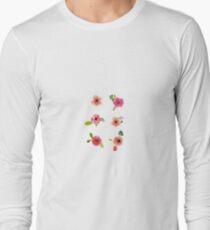 Flower Set Long Sleeve T-Shirt