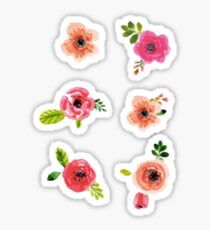 Flower Set Sticker