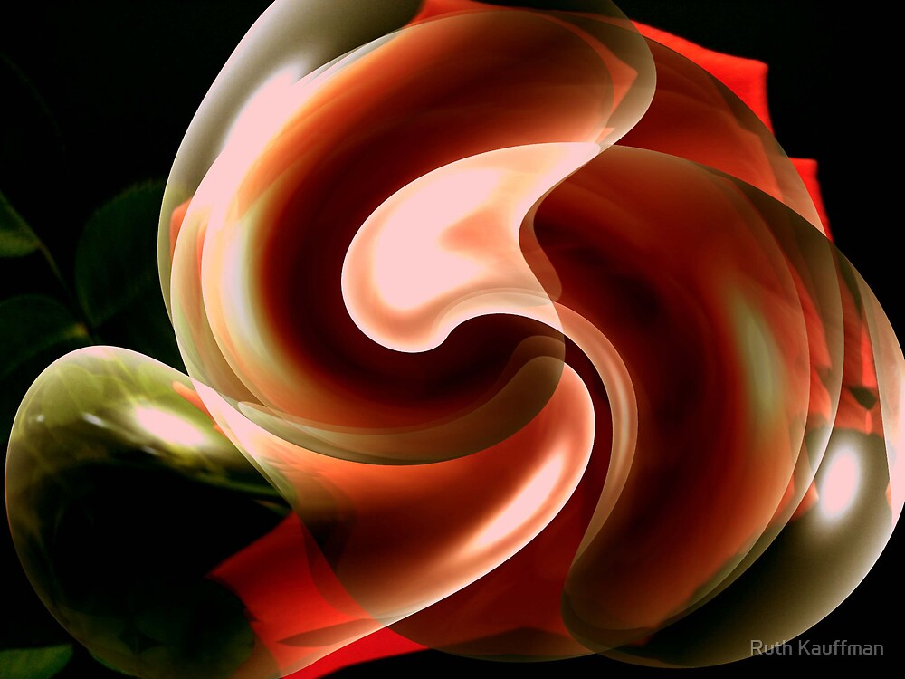 """""""Bubble Abstract"""" by Ruth Kauffman"""