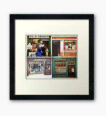 Irish shopfronts Framed Print