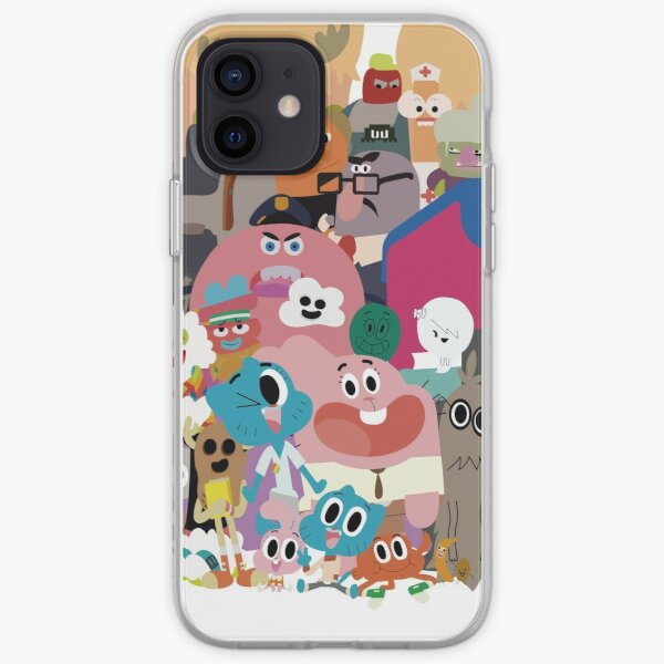 Le monde incroyable de Gumball Coque souple iPhone